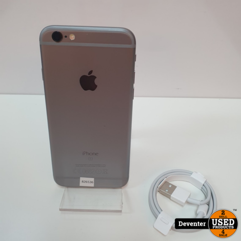Apple iPhone 6s 32GB Spacegray  Accu 100%!