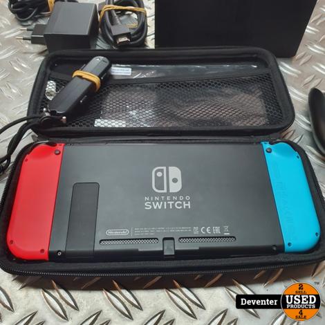 Nintendo Switch (HAC-001) Zeer net met garantie