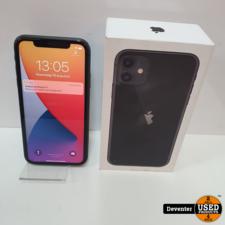 Apple iPhone 11 64gb zwart II Accu 99% II Met garantie