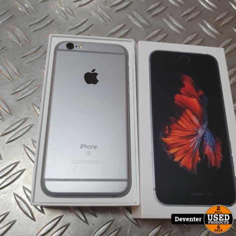 Apple iphone 6S 64GB Spacegray Zeer net met doos