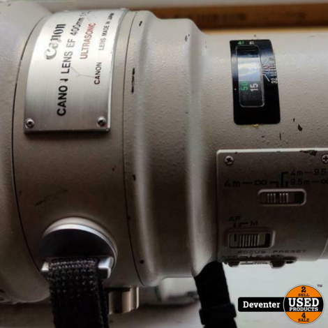 Canon 400mm f/2.8 L USM 400/2.8 in koffer II Met garantie