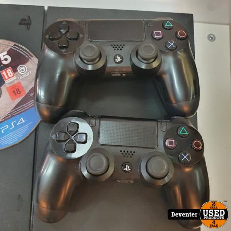 Playstation 4 1 TB met 2 controllers en game II Met garantie