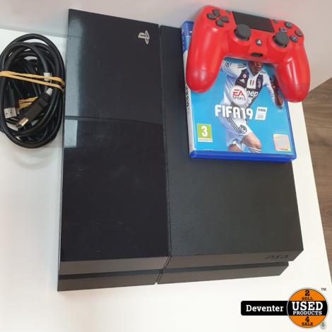 Sony Playstation 4 500GB met 1 Dualshock 4 V2 controller