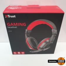 Trust Ziva Gaming Headset Nieuwstaat II Met garantie