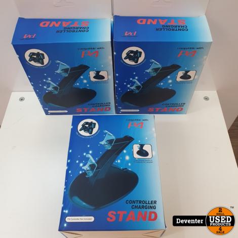 PS4 laadstation voor 2 controllers NIEUW in doos