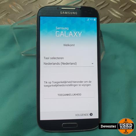 Samsung Galaxy S4 16GB Nette staat met garantie