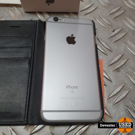 iPhone 6s 32GB Spacegray  Accu 92% Met garantie