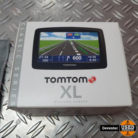 TomTom XL Classic West Europa met nieuwe houder