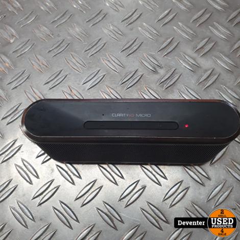 Monster Clarity HD Micro Bluetooth speaker II Met garantie