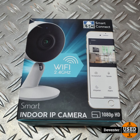 Smart indoor IP HD WiFi camera II Nieuwstaat in doos