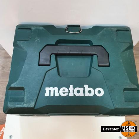 Metabo SBE 18 LTX II 2 x 18 v/ 5.2 aH II Nieuwstaat