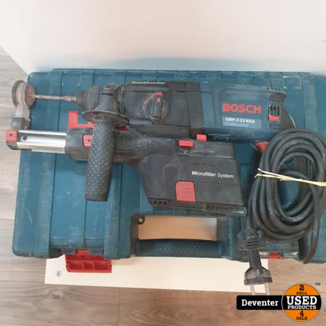 Bosch GBH 2-23 REA Professional Boorhamer met stofafzuiging