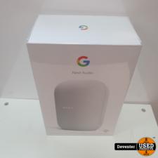 Google Nest Audio Wit Nieuw in seal Used Producst Deventer
