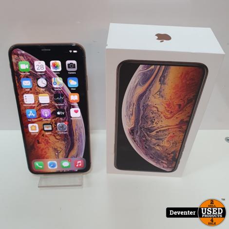 Apple iPhone XS Max 64GB Gold II Accu 90%II Nette staat
