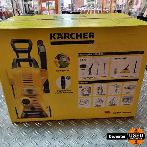 Karcher K3 Home Hogedrukreiniger NIEUW, alleen 1 x getest