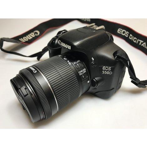 Canon EOS 550D Digitale Camera | Met 18-55 Lens | Met garantie