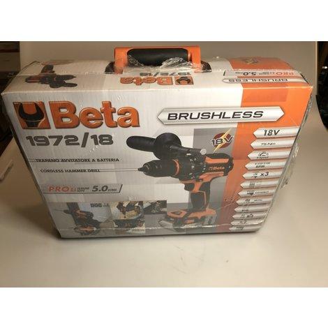 Beta 1972/17 Boormachine pro lithium ion 5ah || NIEUW in koffer || Met garnatie