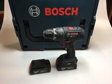 Bosch GSR 18V Boormachine Blauw 2017 | 2x 18V 1.5Ah Accu | In koffer | Met garantie