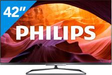 Philips 42PFL6008K/12 Smart Televisie 42inch | Met AB | Met Ambilight | Met garantie