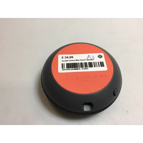 Google Home Mini Smart Speaker || Met garantie
