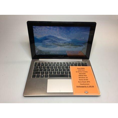Asus X202E | Intel 1.8GHz | 4GB RAM | 500GB HDD | Win10 Home 64-Bit | Touchscreen | Met garantie