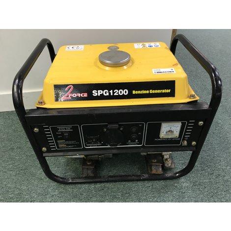 2Force SPG1200 1200W Aggregaat | Met garantie