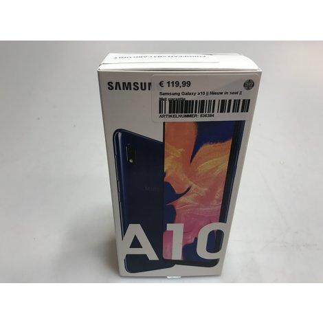 Samsung Galaxy A10 32GB    Blue    Nieuw in seal    Met garantie