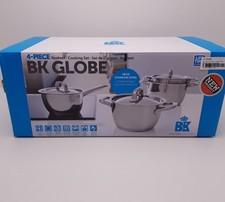 BK Globe Pannenset - 4-delig - RVS   Nieuw in doos   Met garantie