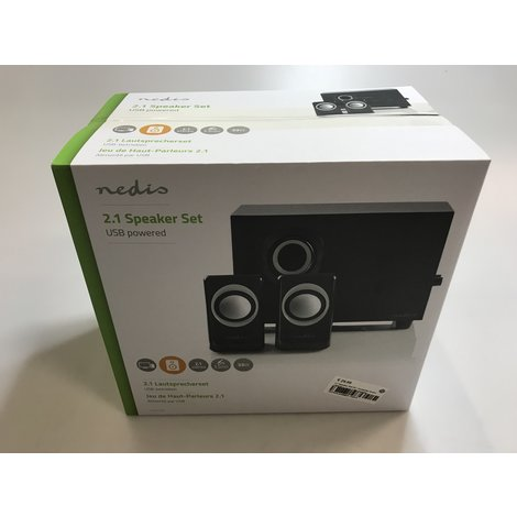 2.1 Speaker Set PC / Computer boxen | NIEUW in doos || Met garantie