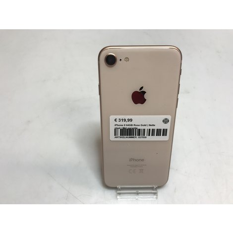 iPhone 8 64GB || Rose Gold || Met garantie