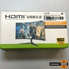 HDMI USB 3.0 Capture Card | Nieuw in doos | Met garantie