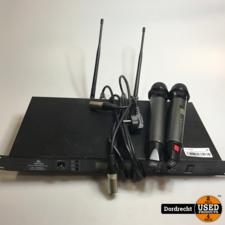 Devine WMD 168 MK2 Microfoon set   Met garantie