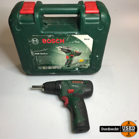 Bosch psr 10.8 li accutol | In kist | Met garantie