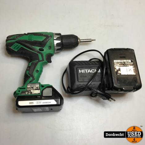 Hitachi DS 18DJL Boormachine 2x 18V accu | Met garantie