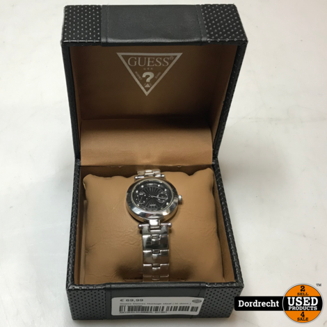 Guess Dames Horloge staal | In doos | Met garantie