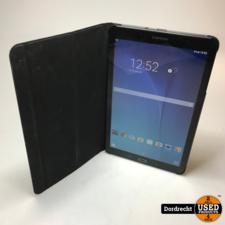 Galaxy Tab E (9.6 inch, Wi-Fi)    Zwart    Met hoes    Met garantie