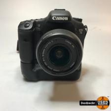 Canon EOS 7D Digitale Camera 18-55mm lens   Met garantie