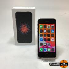 iPhone SE 32GB Zwart   Met doos   Met garantie