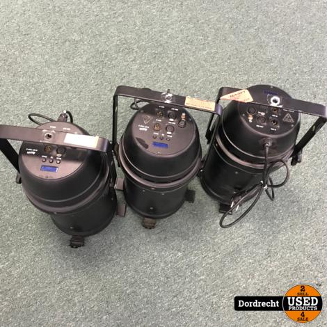 Elation Eled Tri 64B Disco Lampen 3stuks | Met garanatie