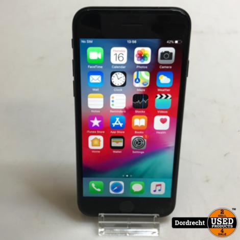 iPhone 7 32GB   Zwart   Gebruikschade   Met garantie