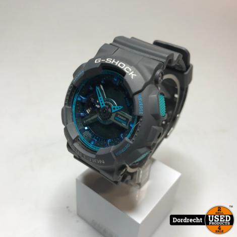 G-Shock Horloge | Grijs/Blauw | In doos | Met garantie