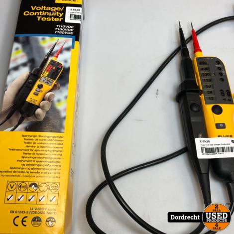 Fluke T110 VDE Voltage Continuiteit tester