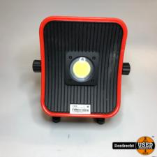 4Tecx Bouwlamp met 230V adapter | Met garantie