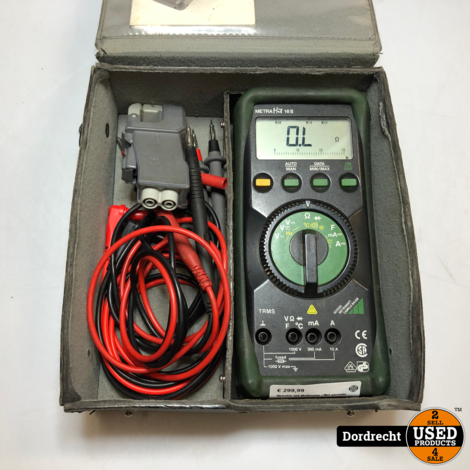 Metrahit 16S Multimeter | Met garantie