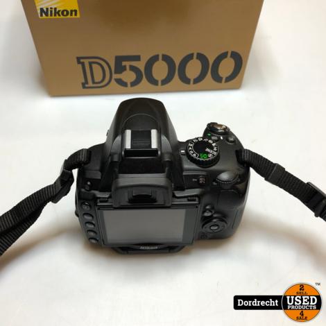 Nikon D5000 Body Digitale Camera || Compleet in doos || Met garantie