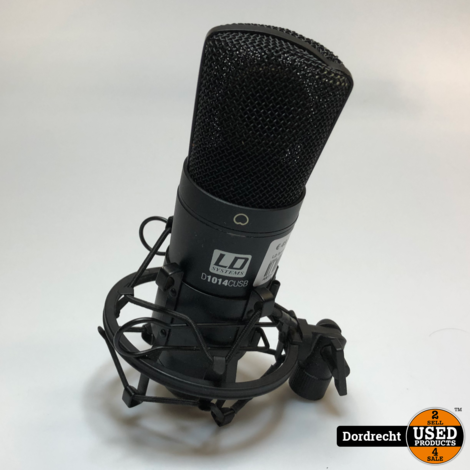 LD System Microfoon Mic. D1014C USB   Met garantie
