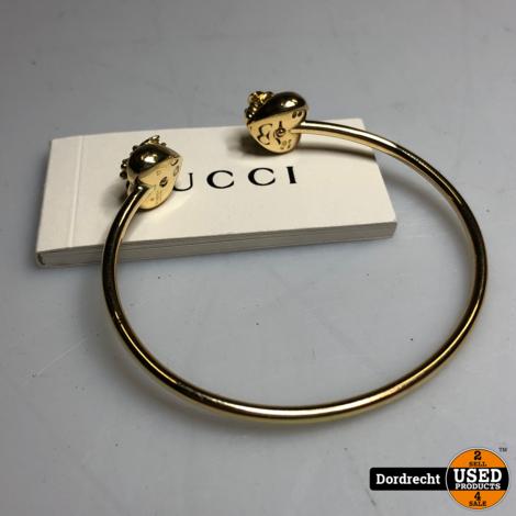 19.7Gram 18K Gouden Gucci Bracelet Armband   Met boekje   Met garantie