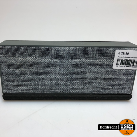 Fresh 'n Rebel Rockbox Fold Fabriq Edition || Met garantie