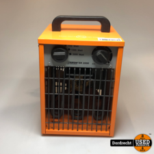 EUROM Elektrische werkplaatskachel EK2000 2000 Watt | Met garantie