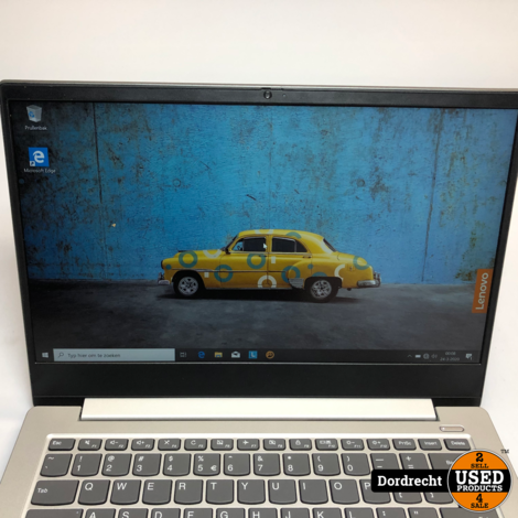 Lenovo IdeaPad S340 Laptop   AMD 2.6GHz   4GB RAM   128GB SSD   Win10 Home 64-Bit   Met garantie